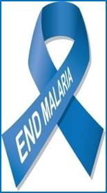 end malaria ribbon